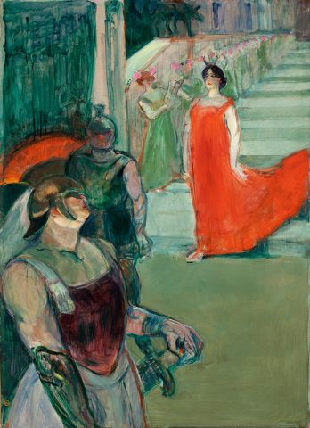 Henri de Toulouse-Lautrec Messalina steigt die Treppe herab, 1900/01 Los Angeles County Museum of Art, Mr. and Mrs. George Gard De Sylva Collection © 2014. Digital Image Museum Associates/LACMA/Art Resource NY/Scala, Florence