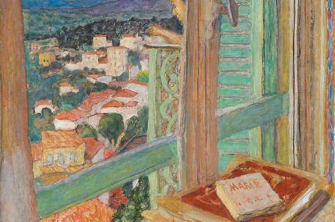 Pierre Bonnard, Das Fenster, 1925, La Fenêtre, Öl auf Leinwand, 108,6 × 88,6 cm , Tate. Presented by Lord Ivor Spencer Churchill through the Contemporary Art Society 1930, N04494 © Tate, London 2019