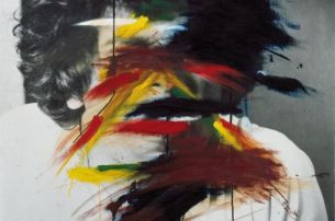 Arnulf Rainer, Face Coloration, 1969/73, Bank Austria Kunstsammlung © Courtesy the Artist