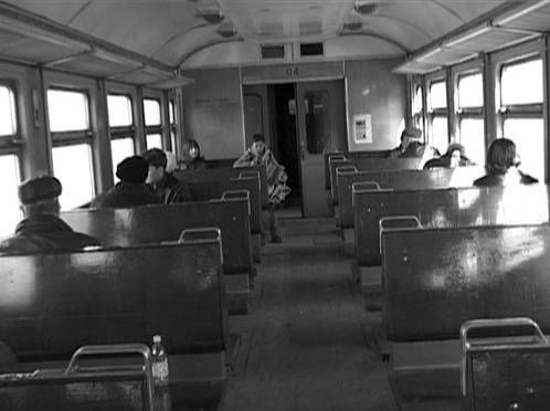 Olga Chernysheva, The Train, 2003 (videostill) © Courtesy of the artist