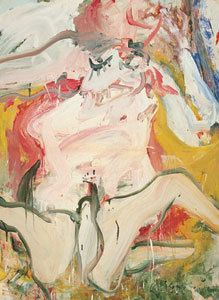 Women on The Sign I, 1967, oil on paper and canvas, private collection, Gagosian Gallery, New York © VBK, Wien, 2005