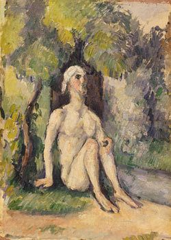 Nu en plain air, Paul Cézanne, 1875/76 Collection Im Obersteg © VBK, Wien, 2003