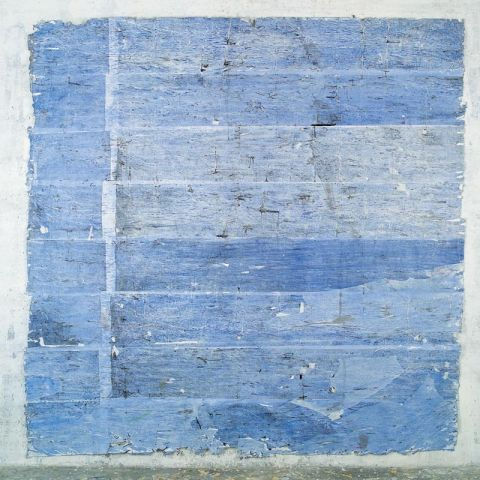 Christof Luger - Blau 1, 2003 © by the artist