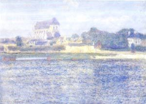 Church in Vernon, Claude Monet, 1894 Museum of Art, Brooklyn © BA-CA Kunstforum