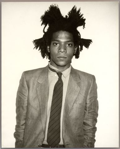 Andy Warhol, Jean-Michel Basquiat, 1982, Unikat, Vintage Gelatine Silver Print, 25,4 x 20,3 cm, Courtesy Galerie Bruno Bischofberger, Schweiz © Foto: Galerie Bruno Bischofberger, Schweiz © 2014, The Andy Warhol Foundation for the Visual Arts, Inc., New York; Bildrecht, Wien