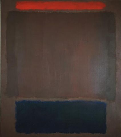Mark Rothko, No. 22 (Red over Plum and Black), 1960, Daros Collection, Switzerland © VBK, Wien, 2007/08, © Foto: Daros Collection, Switzerland