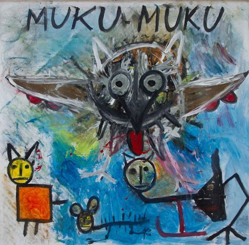 Alf Poier, Muku-Muku, 2000 © Courtesy the artist